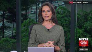 Carla Vilhena perdeu espaço na programação da CNN Brasil (foto: Reprodução/CNN Brasil)