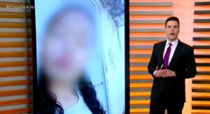 Luiz Bacci no Cidade Alerta de 5 de fevereiro: superado por novelas mexicanas (foto: Reprodução/Record)