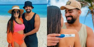 Dilsinho e Beatriz Ferraz vão revelar no Altas Horas o sexo de seu primeiro filho (foto: Montagem/Instagram)