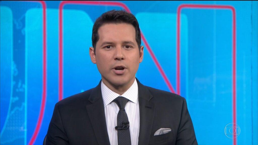 Dony de Nuccio chegou a apresentar o Jornal Nacional; SBT sonha com ele no SBT Brasil (foto: Reprodução/TV Globo)