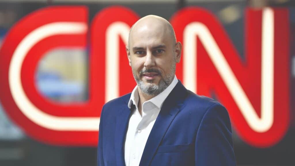 Douglas Tavolaro trabalhou na Record durante 15 anos e deixou a emissora para ser CEO da CNN Brasil (foto: Divulgação/CNN Brasil)