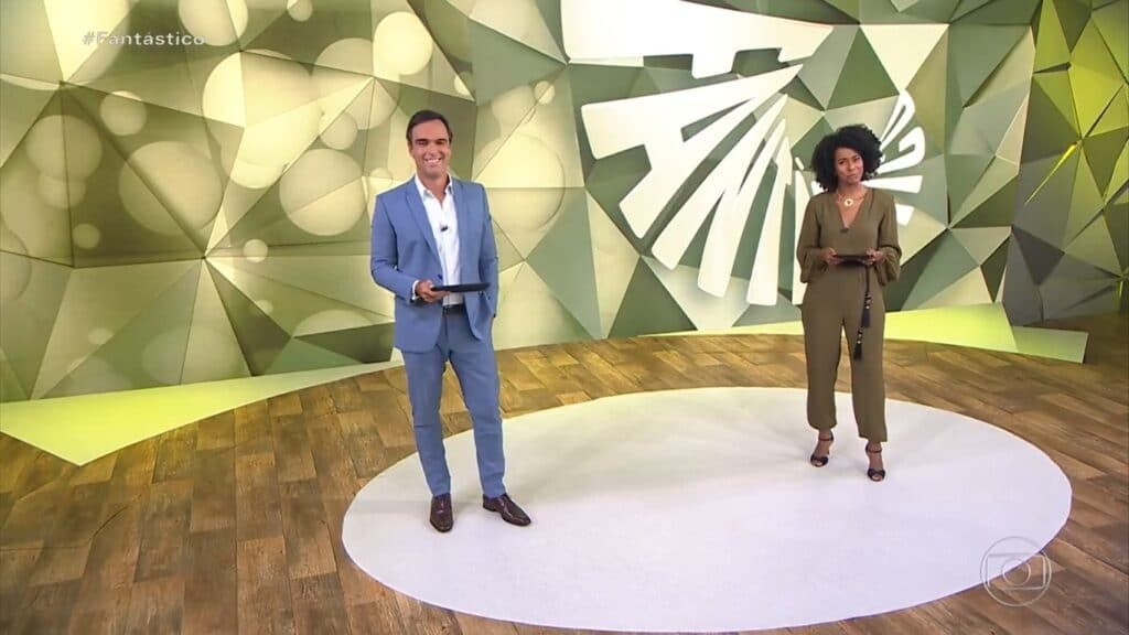 Fantástico teve menos audiência do que o BBB e futebol (foto: Reprodução/TV Globo)