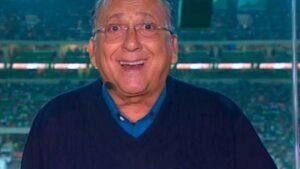 Galvão Bueno é o principal narrador esportivo da Globo (foto: Reprodução/TV Globo)