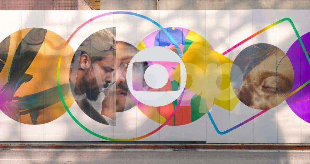Globo apostará em tons vivos e em minimalismo para a sua nova identidade visual (foto: Reprodução/TV Globo)