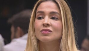 Kerline foi a primeira eliminada do BBB21 (foto: Reprodução/TV Globo)