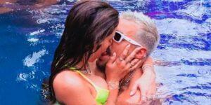 Lipe Ribeiro e Anitta tiveram affair relâmpago em reality (foto: Reprodução/Redes Sociais)