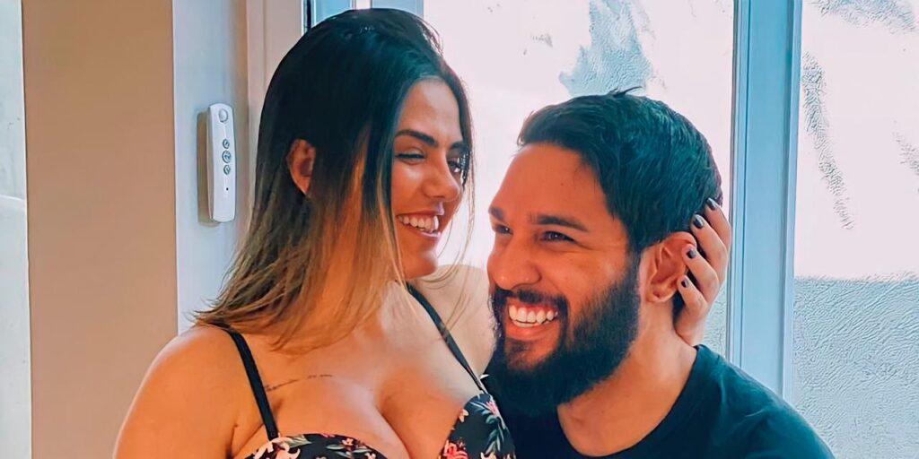 Lucas Lira e Sunaika Bruna já estão na maternidade (foto: Reprodução/Instagram)
