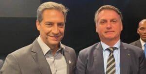 Apoiador ferrenho de Jair Bolsonaro, Luís Ernesto Lacombe é o novo apresentador do RedeTV! News (foto: Reprodução/Redes Sociais)