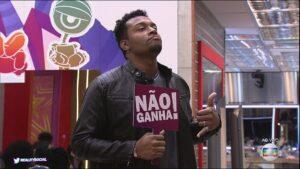 Nego Di foi exposto pela mãe de seu filho no Instagram (foto: Reprodução/TV Globo)