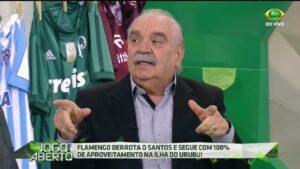 Paulo Roberto Martins, o Morsa, foi dispensado do Jogo Aberto (foto: Reprodução/Band)