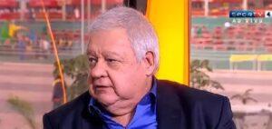 Paulo Stein diz que foi demitido pela Globo por estar acima do peso (foto: Reprodução/SporTV)