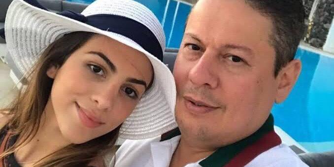 Pétala Barreiros ao lado de seu ex-marido, o empresário Marcos Araújo (foto: Reprodução/Redes Sociais)