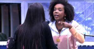 Thelma fez desabafo sobre a conduta de Karol Conká no BBB21 (foto: Reprodução/TV Globo)