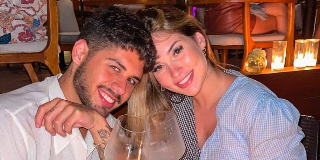 Zé Felipe e Virginia durante a viagem luxuosa ao México (foto: Reprodução/Redes Sociais)