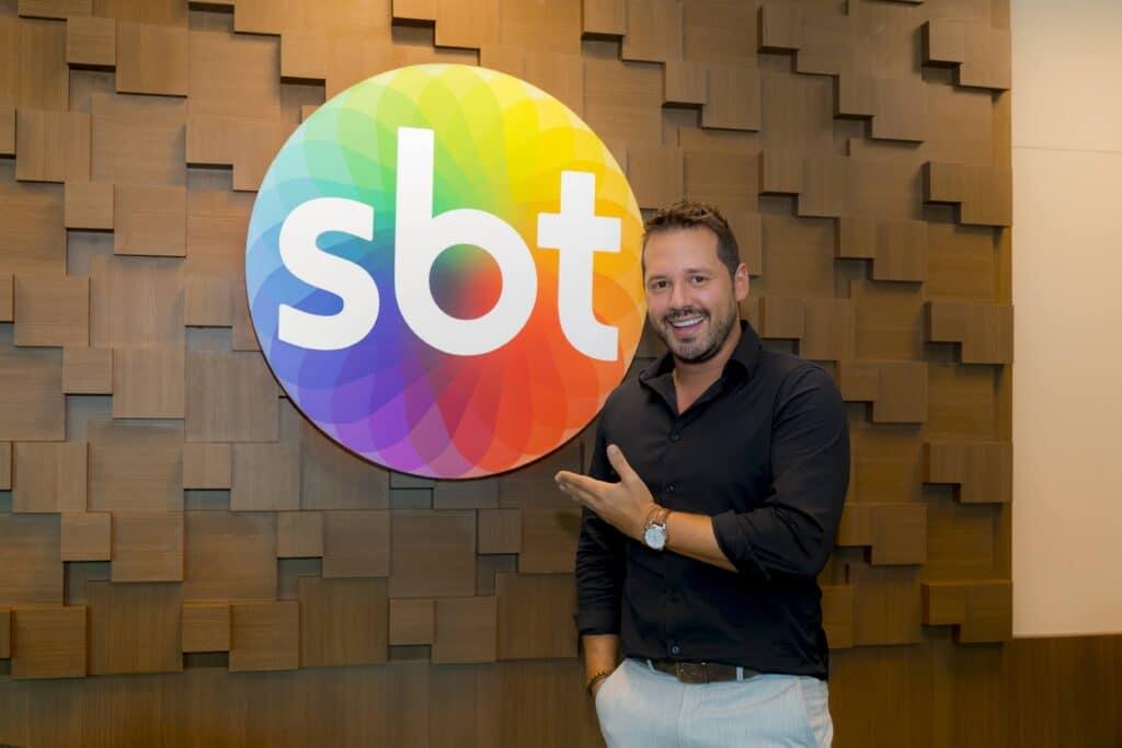 Dony De Nuccio é o novo contratado do SBT (foto: Gabriel Cardoso/SBT)