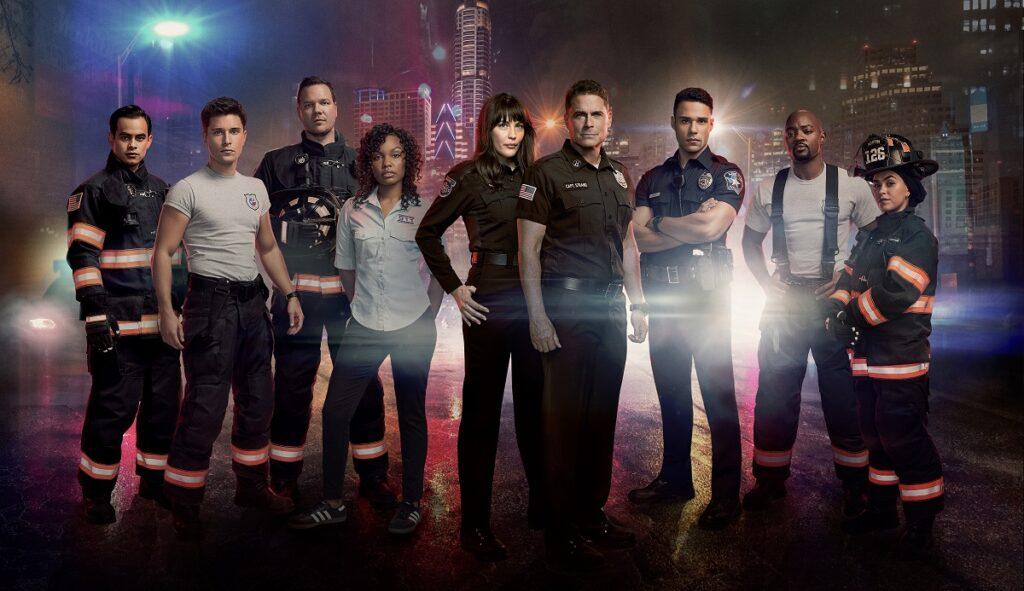 Imagem oficial de divulgação de Lone Star, o primeiro spin-off de 9-1-1 (foto: Divulgação/Star Channel)