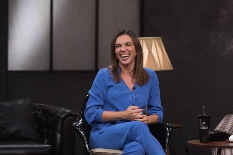 Ana Paula Araújo é uma das convidadas do Que História é Essa, Porchat? (foto: Juliana Coutinho/Divulgação)