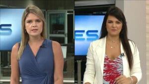 TV Gazeta deixa de produzir jornais no interior; Valéria Vieira (à esq.) e Gabrielle Manganeli assumem novas edições regionais (foto: Reprodução)