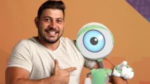 Caio e sua ameaça diária de desistir do BBB21 (foto: Globo/João Cotta)