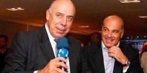 Amilcare Dallevo Jr. e Marcelo de Carvalho são os sócios da RedeTV! (foto: Divulgação)