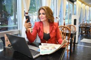 A partir de segunda-feira (8), Analice Nicolau terá coluna no Jornal de Brasília (foto: Divulgação)