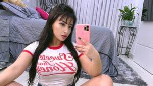 Emanuelly Raquel é uma das estrelas do entretenimento adulto no OnlyFans (foto: Acervo pessoal)