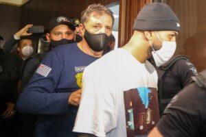 Gabigol foi uma das pessoas detidas em cassino clandestino (foto: Reprodução/Globo)
