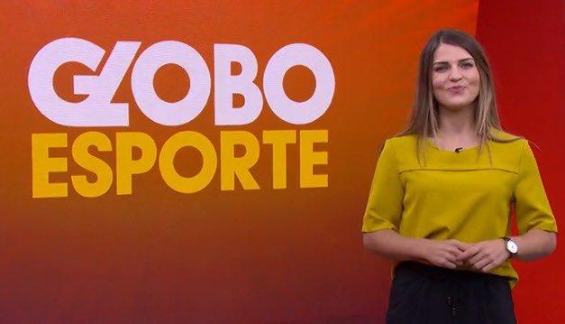 Gabriela Ribeiro apresentará o GESP neste sábado (12) (foto: Reprodução/Globo)