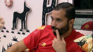 Gilberto diz que tamanho do pênis de Lucas foi o que mais o atraiu (foto: Reprodução/Globo)