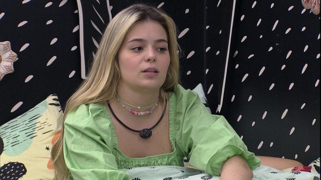 Barulho do peido de Viih Tube assustou participantes (foto: Reprodução/Globo)