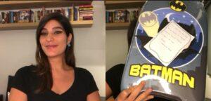 Andréia Sadi se despediu do Em Pauta e foi surpreendida por colegas de trabalho (foto: Reprodução/GloboNews)