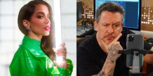 Anitta e Rick Bonadio trocaram farpas por conta do Grammy 2021 (foto: Montagem/Redes Sociais)