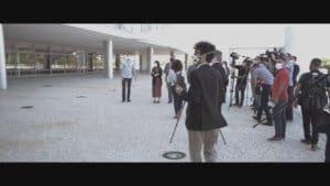 Documentário foi gravado em parceria com o Jornalismo da Globo (foto: Divulgação/Globo)