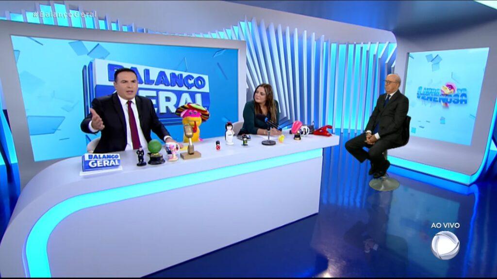 Balanço Geral teve a sua maior audiência do ano com cobertura da pandemia em São Paulo (foto: Reprodução/Record)