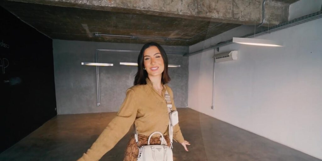 Bianca Andrade mostrou pela primeira vez onde será o seu novo escritório (foto: Reprodução/YouTube)
