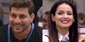 A equipe de Caio Afiune nas redes sociais está em pé de guerra com a torcida de Juliette Freire (foto: Montagem/Reprodução/TV Globo)