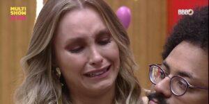 Carla Diaz teve uma crise de choro na casa do BBB (foto: Reprodução/Multishow)