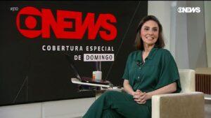 Cecília Flesch se envolveu em polêmica por conta do ex-presidente Lula (foto: Reprodução/GloboNews)