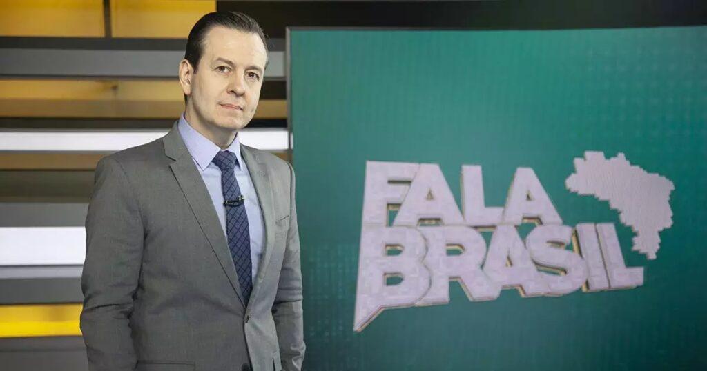 Celso Zucatelli será o próximo apresentador de A Fazenda, segundo Regina Volpato (foto: Divulgação/Record)