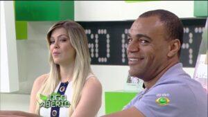 Band tem medo que Denilson possa trocar Renata Fan pela Libertadores no SBT (foto: Reprodução/Band)