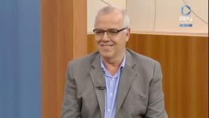 Domingos Fraga, diretor de Jornalismo da Record, não resistiu ao tratamento da Covid-19 (foto: Reprodução/Record News)