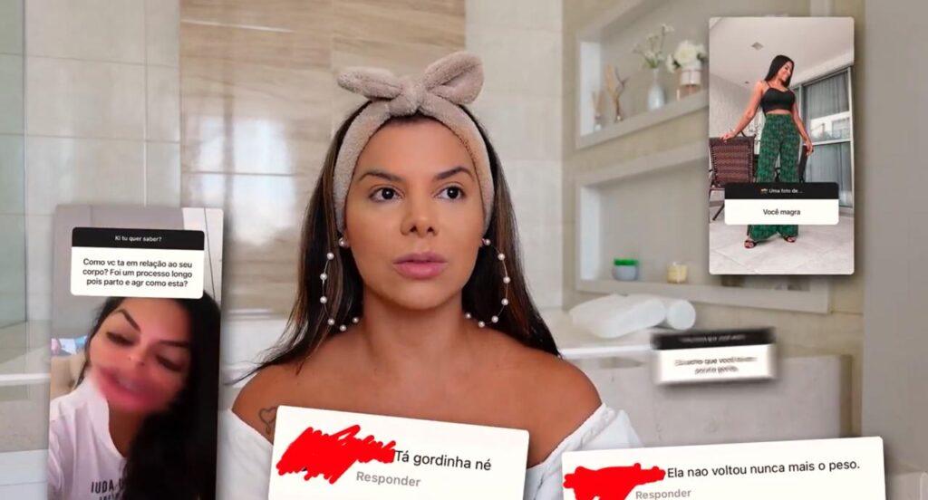 Evelyn Regly surpreendeu seguidores ao revelar que teve anorexia três vezes (foto: Reprodução/Redes Sociais)