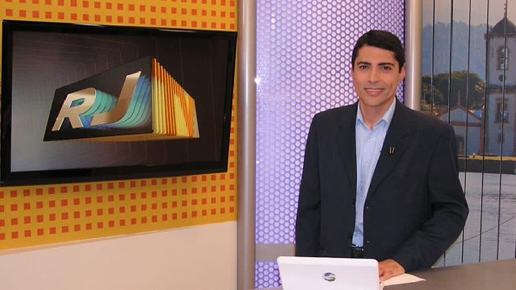Fabio Brunelli trabalhou por quase 20 anos na TV Rio Sul, afiliada da Globo (foto: Reprodução)