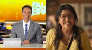 Estreia do novo Fala Brasil e a volta de Amor de Mãe na Globo foram os destaques do primeiro dia de março (foto: Montagem/Record e Globo)