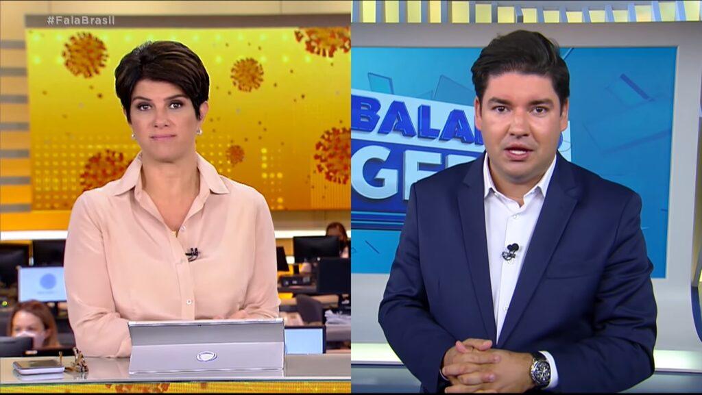 Fala Brasil ficou em terceiro lugar pelo 11º dia consecutivo e foi superado pelo Balanço Geral Manhã (foto: Reprodução/Record)