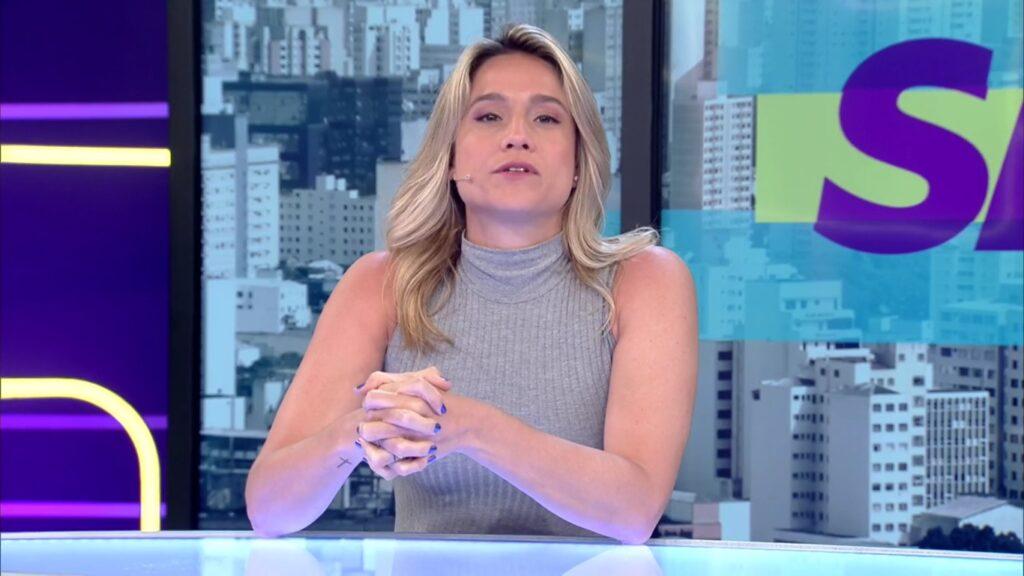 Fernanda Gentil na derradeira edição do Se Joga, em 16 de março: programa ganhou segunda chance (foto: Reprodução/TV Globo)