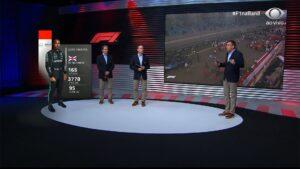 Cobertura do GP do Bahrein de Fórmula 1 fez audiência da Band disparar em pleno domingo (foto: Reprodução/Band)