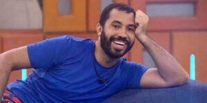 Gil do Vigor se assustou ao ver que faltavam mais de 800 dias para o fim de sua liderança no BBB (foto: Reprodução/TV Globo)
