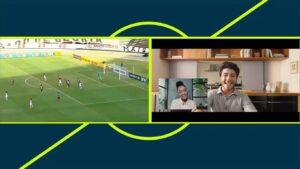 Transmissões de futebol da Globo ganharam comerciais no meio das partidas: emissora quase perdeu gol no Campeonato Pernambucano (foto: Reprodução/TV Globo)