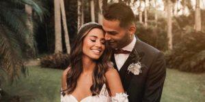 A cantora gospel Isadora Pompeo se casou com o Thiago Maia, jogador do Flamengo (foto: Reprodução/Redes Sociais)